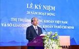 Thủ tướng dự Lễ kỷ niệm 20 năm hoạt động thị trường chứng khoán Việt Nam