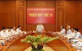 Phiên họp thứ 18 Ban Chỉ đạo Trung ương về phòng, chống tham nhũng