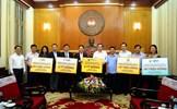 Những doanh nghiệp đầu tiên ủng hộ cuộc chiến chống dịch COVID-19 tại miền Trung