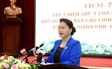 Đảng đoàn Quốc hội góp ý vào Dự thảo Báo cáo chính trị của Đảng bộ TP Hà Nội