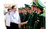 Tập trung lãnh đạo thực hiện thắng lợi nhiệm vụ bảo vệ chủ quyền lãnh thổ, an ninh biên giới quốc gia
