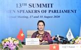 Chủ tịch Quốc hội dự Hội nghị thượng đỉnh các nữ Chủ tịch Quốc hội thế giới lần thứ 13