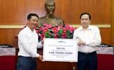 MTTQ Việt Nam tiếp nhận 2 hệ thống máy ECMO ủng hộ công tác phòng, chống dịch Covid-19