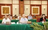 Bộ Chính trị làm việc với Ban Thường vụ Thành ủy TP. Hồ Chí Minh