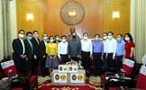Chủ tịch Trần Thanh Mẫn tiếp nhận ủng hộ phòng, chống dịch Covid-19 từ các doanh nghiệp Thái Lan
