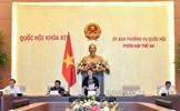 Khai mạc phiên họp thứ 48 của Ủy ban Thường vụ Quốc hội