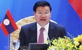 Thủ tướng Lào gửi điện thăm hỏi nhân dân các tỉnh miền Trung