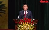 Đồng chí Vương Đình Huệ tái cử Bí thư Thành ủy Hà Nội khóa XVII với số phiếu tuyệt đối