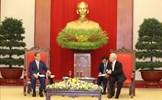 Tổng Bí thư, Chủ tịch nước Nguyễn Phú Trọng tiếp Thủ tướng Nhật Bản Suga Yoshihide