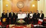 Chính phủ Hoàng gia Thái Lan hỗ trợ người dân vùng lũ lụt miền Trung