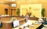 Khai mạc phiên họp thứ 50 của Ủy ban Thường vụ Quốc hội