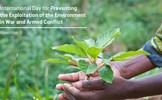 Bảo vệ môi trường nhằm ngăn chặn xung đột, kiến tạo hòa bình