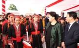 Chủ tịch Quốc hội Nguyễn Thị Kim Ngân dự Ngày hội Đại đoàn kết toàn dân tộc tỉnh Yên Bái