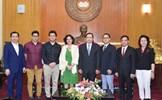 Chủ tịch Trần Thanh Mẫn tiếp Đại sứ Cuba tại Việt Nam