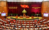 Thông cáo báo chí về ngày làm việc thứ nhất của Hội nghị lần thứ 14 Ban Chấp hành Trung ương Đảng khóa XII