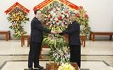 Chủ tịch Trần Thanh Mẫn chúc mừng Giáng sinh tại Giáo phận Phát Diệm