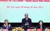 Thủ tướng dự Hội nghị triển khai nhiệm vụ tài chính - ngân sách nhà nước năm 2021