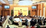 Thông qua 2 nghị quyết về bầu cử đại biểu Quốc hội và đại biểu Hội đồng nhân dân