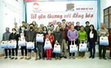 Đoàn Hiệp hội Nước mắm Việt Nam mang Tết yêu thương đến bà con tỉnh Quảng Ngãi