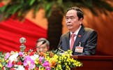 Chủ tịch UBTƯ MTTQ Việt Nam Trần Thanh Mẫn được bầu vào Bộ Chính trị khóa XIII
