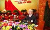 Ban Chấp hành Trung ương Đảng nguyện đoàn kết một lòng, toàn tâm, toàn ý phụng sự Tổ quốc, phục vụ nhân dân, lãnh đạo thực hiện thắng lợi Nghị quyết Đại hội XIII của Đảng*