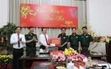 Chủ tịch Trần Thanh Mẫn thăm, chúc Tết Bộ Tư lệnh Quân khu 9