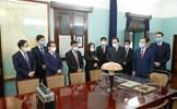 Chủ tịch Trần Thanh Mẫn dâng hương tưởng nhớ Chủ tịch Hồ Chí Minh tại Nhà 67