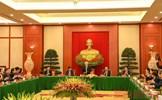 Bộ Chính trị, Ban Bí thư gặp mặt thân mật cán bộ lãnh đạo cấp cao không tái cử khóa XIII