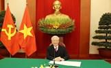 Tổng Bí thư, Chủ tịch nước Nguyễn Phú Trọng điện đàm với Thủ tướng Nhật Bản Xưga Yôsihiđê