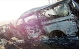 Xe buýt nổ lốp ở Nigeria, 19 người thiệt mạng