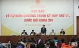 Kiện toàn chức danh lãnh đạo chủ chốt Nhà nước tại kỳ họp thứ 11