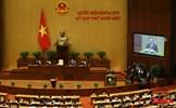 Ngày 1/4, Quốc hội thực hiện quy trình nhân sự về chức danh Thủ tướng Chính phủ