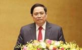 Đồng chí Phạm Minh Chính được Quốc hội bầu giữ chức Thủ tướng Chính phủ