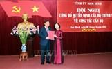 Đồng chí Phạm Gia Túc giữ chức Bí thư Tỉnh ủy Nam Định