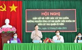 Phó Chủ tịch Trương Thị Ngọc Ánh tiếp xúc cử tri TP. Cần Thơ