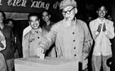 Thực hiện các nguyên tắc cơ bản của bầu cử theo tư tưởng Hồ Chí Minh góp phần xây dựng nhà nước pháp quyền của dân, do dân và vì dân