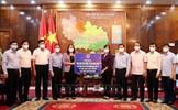 Phó Chủ tịch nước thăm, động viên nhân dân Bắc Ninh phòng, chống dịch