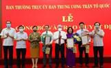 Chủ tịch Đỗ Văn Chiến trao quyết định bổ nhiệm cán bộ Mặt trận Trung ương