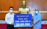 Báo Nhân Dân ủng hộ 200 triệu đồng phòng, chống dịch Covid-19