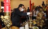 Lãnh đạo TP Hồ Chí Minh dâng hương tưởng nhớ Chủ tịch Hồ Chí Minh