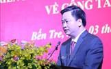 Đồng chí Lê Đức Thọ giữ chức vụ Bí thư Tỉnh ủy Bến Tre