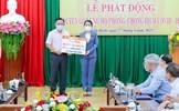 Tập đoàn Hưng Thịnh trao tặng tỉnh Bình Định 50.000 liều vắc-xin phòng Covid-19