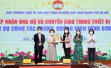 Doanh nghiệp tiếp tục hỗ trợ các trang thiết bị y tế thiết yếu phòng, chống dịch Covid-19 cho Hà Nội