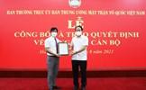 Ông Nguyễn Văn Hanh giữ chức Phó Chánh Văn phòng UBTƯ MTTQ Việt Nam