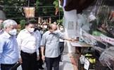 Chủ tịch nước và Chủ tịch UBTƯ MTTQ Việt Nam thăm hỏi, động viên nhân dân Thủ đô tích cực phòng, chống dịch