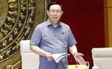 Chủ tịch Quốc hội làm việc với Thường trực các ủy ban về việc chuẩn bị các dự án luật