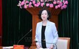 Phiên họp thứ nhất Ban Chỉ đạo xây dựng Đề án 'Về xây dựng tổ chức cơ sở đảng, đảng viên'