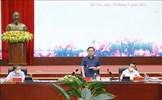 Chủ tịch Quốc hội Vương Đình Huệ làm việc với Bộ Tài nguyên và Môi trường