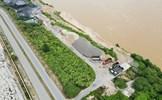 Phú Thọ: Lấp sông, lập bến trái phép bên tả sông Thao