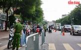 Vị trí cụ thể các chốt kiểm soát ra vào 'vùng đỏ' ở Hà Nội